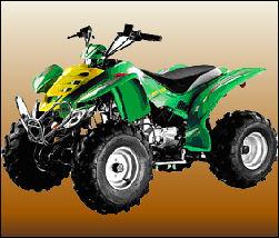 Billiga fyrhjulingar 110cc